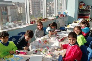 İlkokullarda Vitray Çalışmalarımız Başlamıştır | İstanbul Pendik...