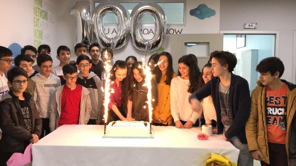 Sınava 100 Gün Kala Partisi | İstanbul Pendik İlkokulu ve Ortaoku...