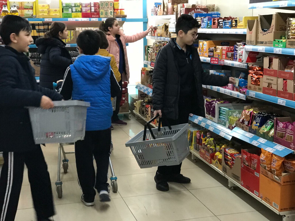 Market Yarışması | İstanbul Pendik İlkokulu ve Ortaokulu | Özel O...