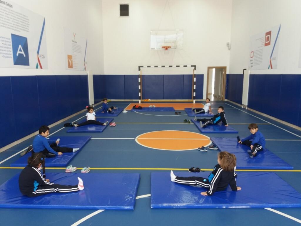 Jimnastik   İstanbul Pendik İlkokulu ve Ortaokulu   Özel Okul