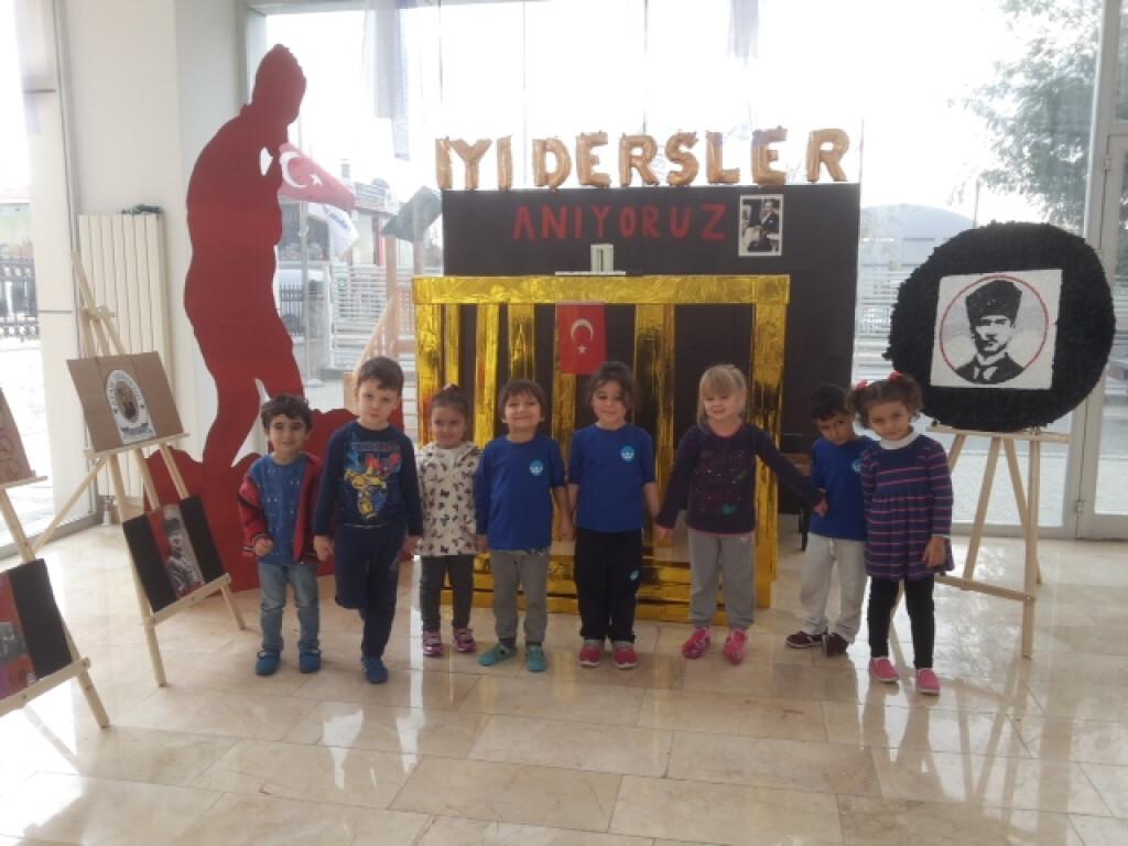 10 Kasım Atatürk'ü Anma Haftası - Görsel Sanatlar Dersi | İstanbu...