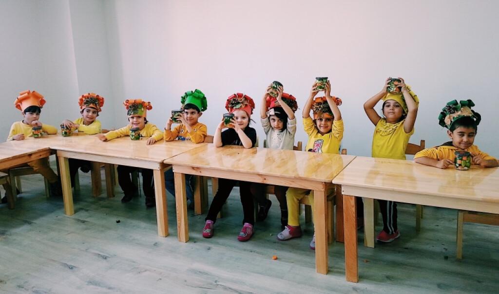 Gastronomi Dersimizde Turşu Yapımı. | Kayseri Konaklar İlkokulu v...