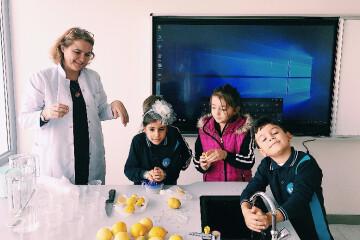 Gastronomi Dersi ''l'' Sesi Limonata Etkinliği.