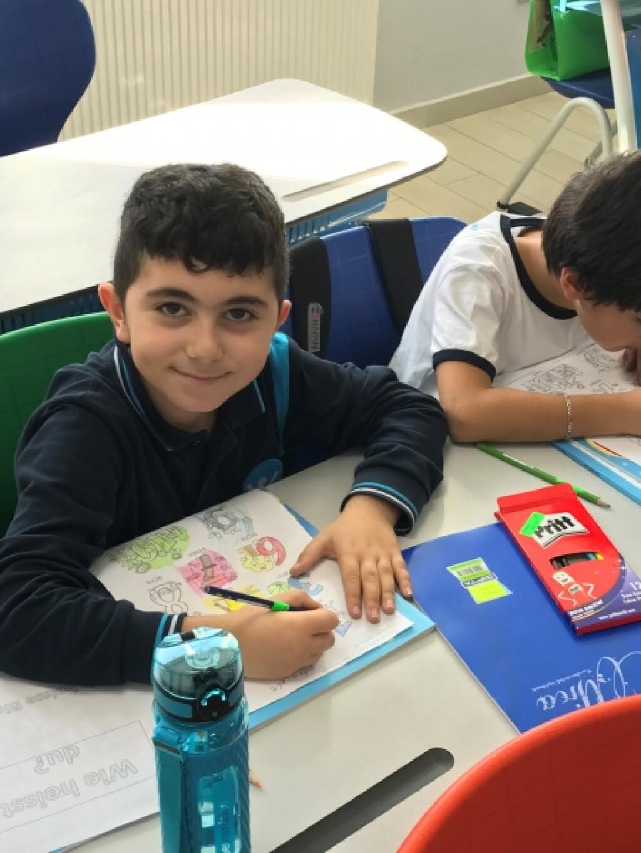 Dilde Boyayarak Öğrenme | İstanbul Pendik İlkokulu ve Ortaokulu |...