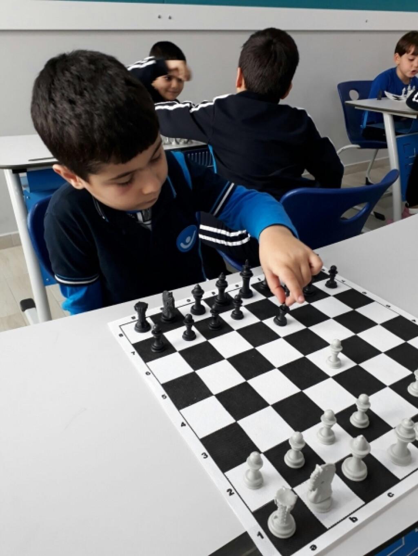 Satranç Eğitimi   İstanbul Pendik İlkokulu ve Ortaokulu   Özel Ok...