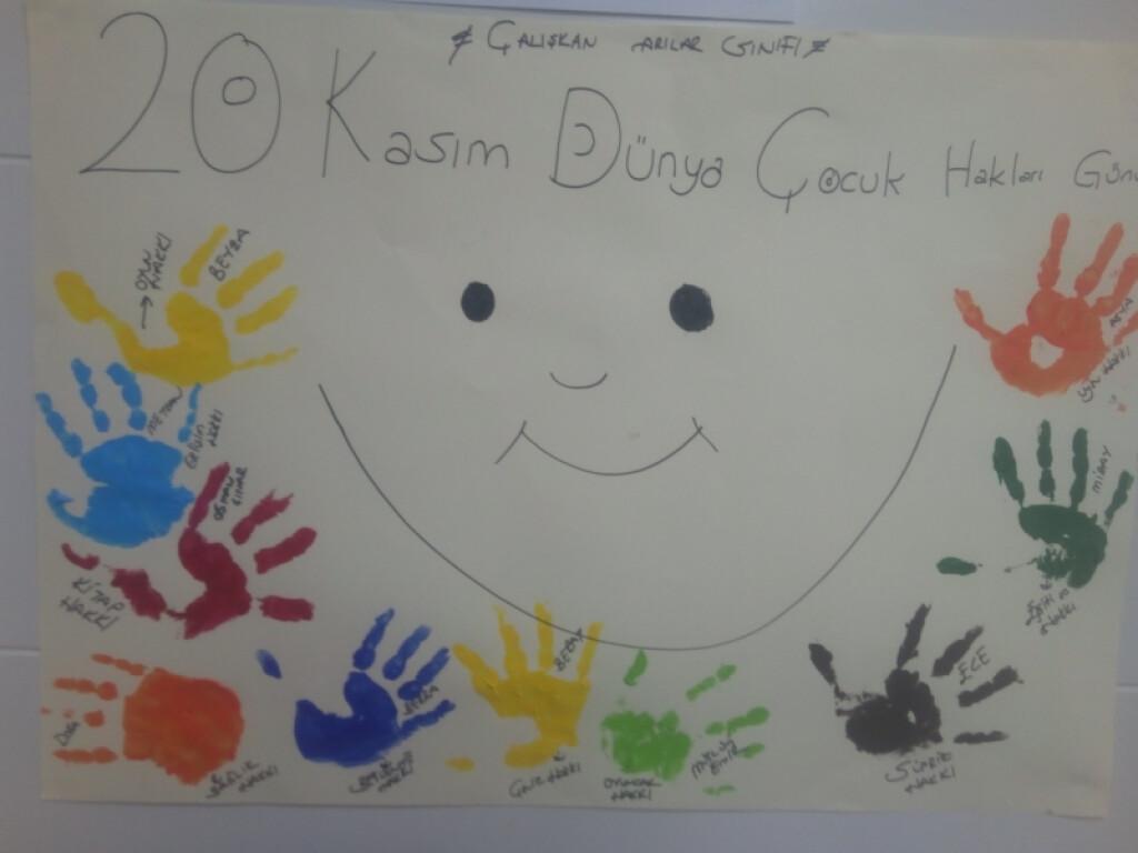 20 Kasım Dünya Çocuk Hakları Günü   İstanbul Pendik İlkokulu ve O...