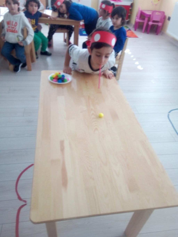 Pinpon Topu Oyunu | İstanbul Pendik İlkokulu ve Ortaokulu | Özel...