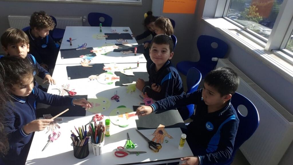 Görsel Sanatlar Dersinde 5 Duyu Organımız | İstanbul Pendik İlkok...