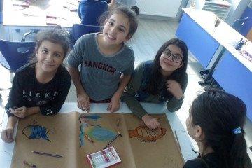 Pastel Boyalar İle Grup Çalışmamız