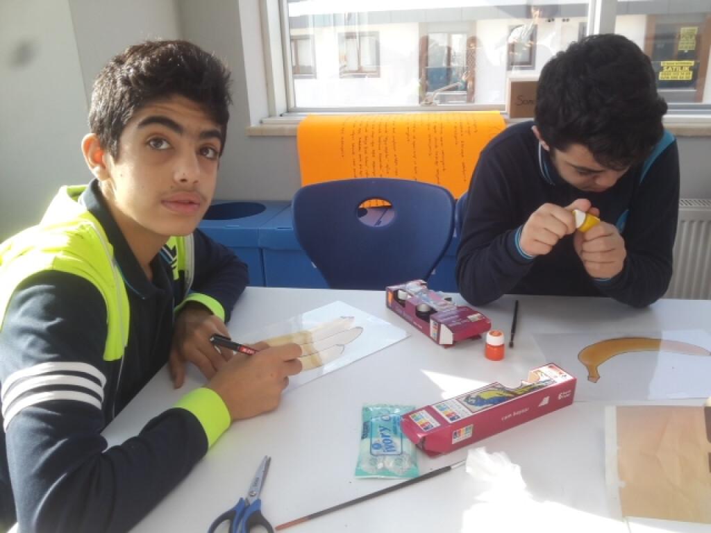 Vitray Çalışmamız | İstanbul Pendik İlkokulu ve Ortaokulu | Özel...