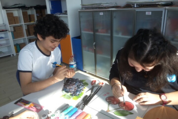 Vitray Çalışmamız