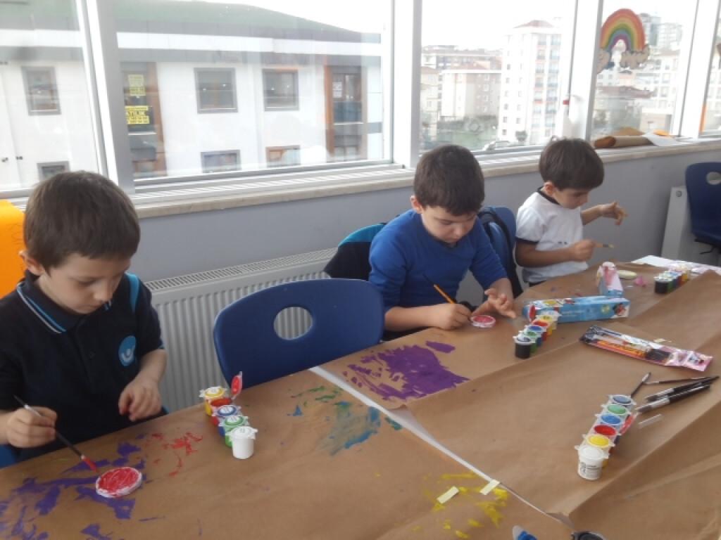Stone Art Sanatı İle Kutlu Doğum Çalışmamız | İstanbul Pendik İlk...