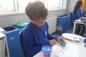 Stone Art Sanatı İle Kutlu Doğum Çalışmamız