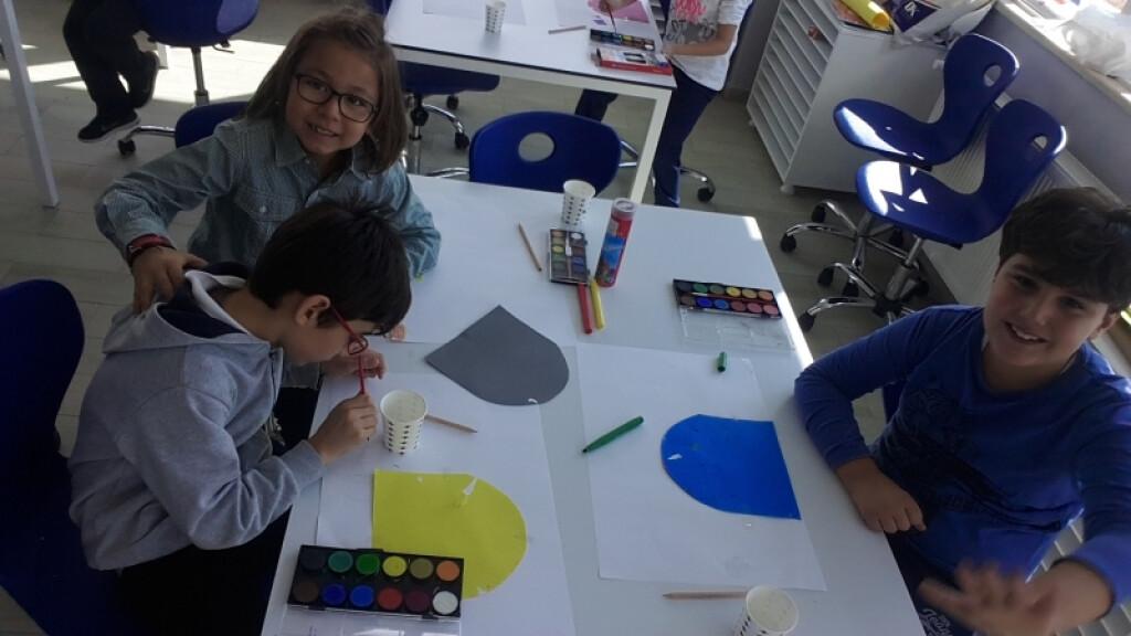 İlköğretimde Sulu Boya Çalışmamız | İstanbul Pendik İlkokulu ve O...