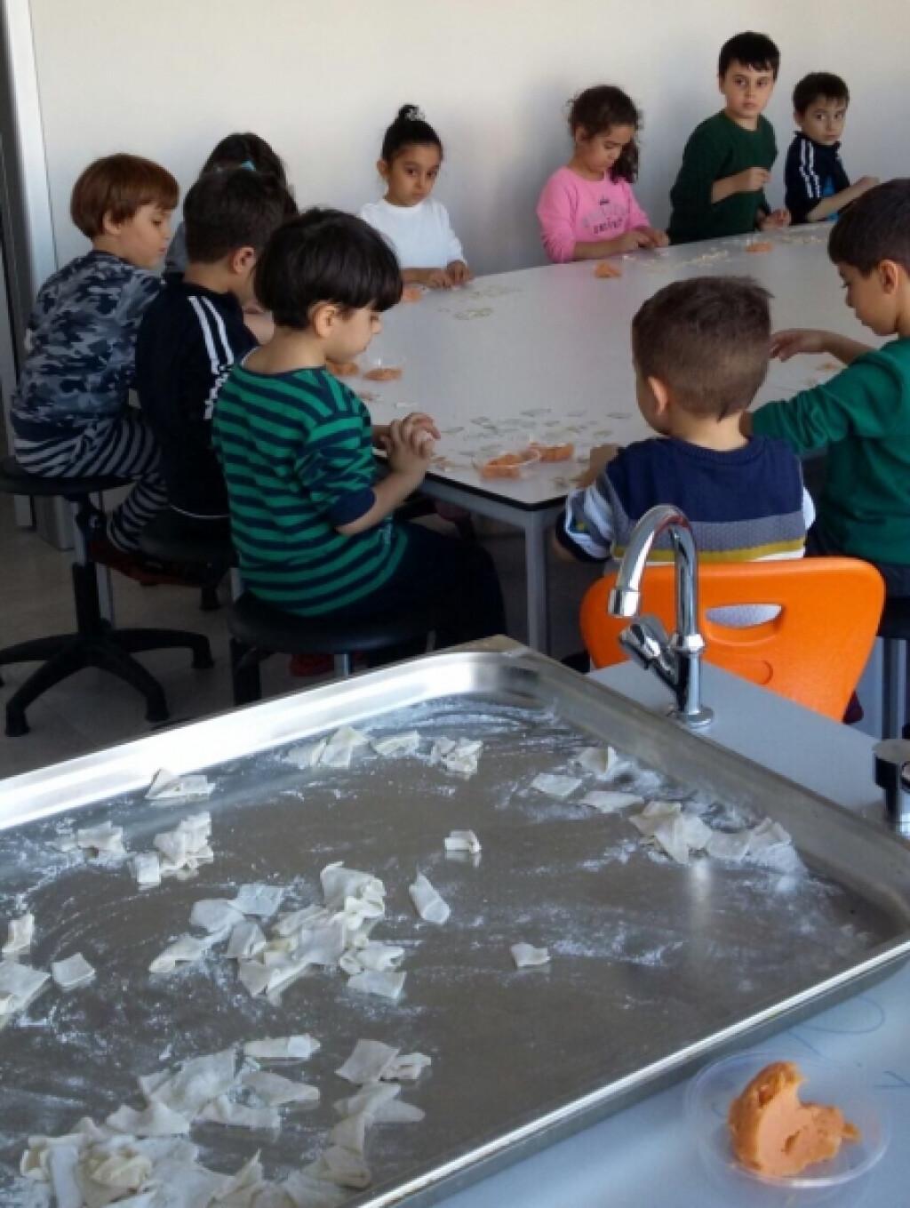 Gastronomi ve Ekoloji Dersimizde... | Kayseri Konaklar İlkokulu v...