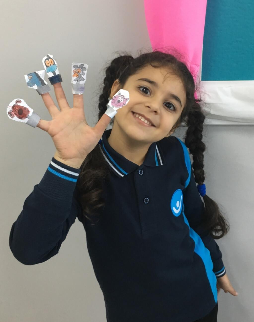 Finger Puppet Yaparak Hem Eğlendik Hem Öğrendik | İstanbul Pendik...