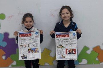 'artık Gazete Okuyoruz' | İstanbul Pendik İlkokulu ve Ortaokulu |...