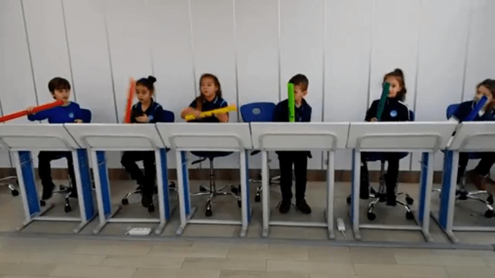 Müzik Derslerinde Boomwhackers | İstanbul Pendik İlkokulu ve Orta...