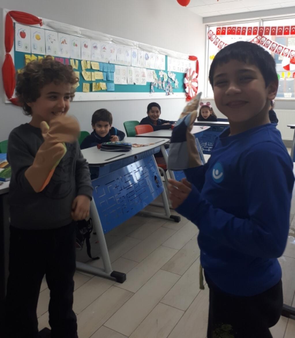 Nezaketli Kuklalar | İstanbul Pendik İlkokulu ve Ortaokulu | Özel...