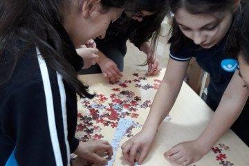 Puzzle Tamamlamada İddialıyız | İstanbul Pendik İlkokulu ve Ortao...