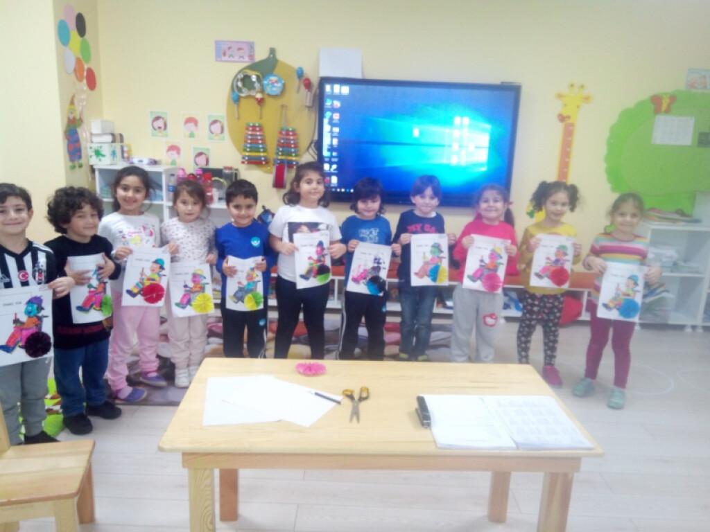 Çalışkan Arılar Sınıfı Engelliler Günü   İstanbul Pendik İlkokulu...
