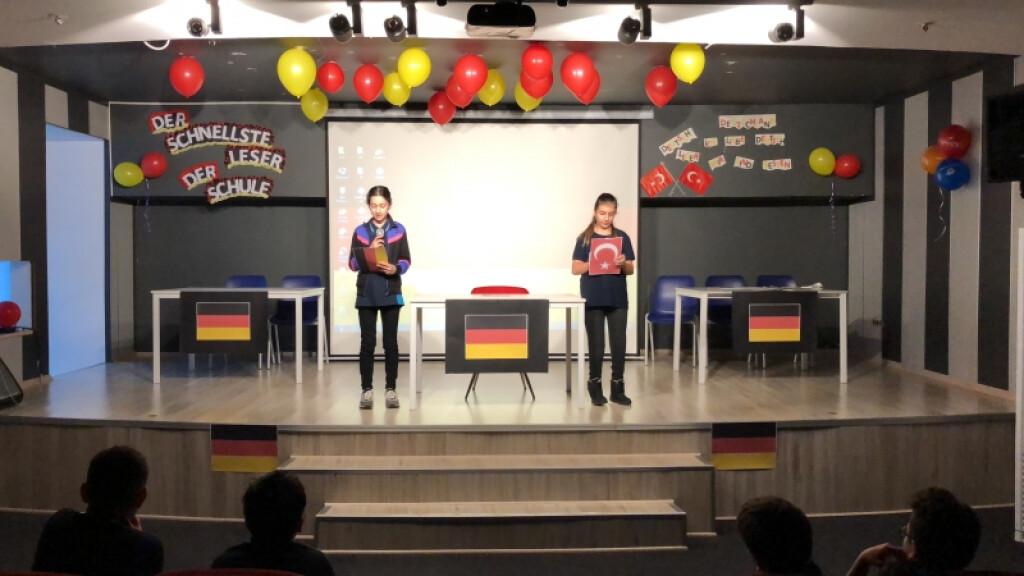Der Schnellste Leser Der Schule | İstanbul Pendik İlkokulu ve Ort...