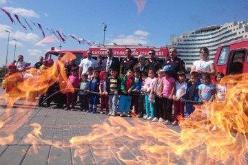 İyi Dersler Okulları Anaokulu Yangından Korunma Haftası Etkinliği