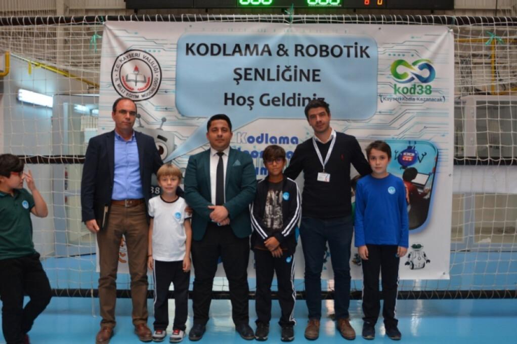Kodlama & Robotik Şenliği   Kayseri Konaklar İlkokulu ve Ortaokul...