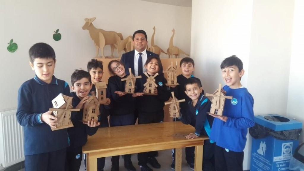 Ahşap Atölyesi | Kayseri Konaklar İlkokulu ve Ortaokulu | Özel Ok...