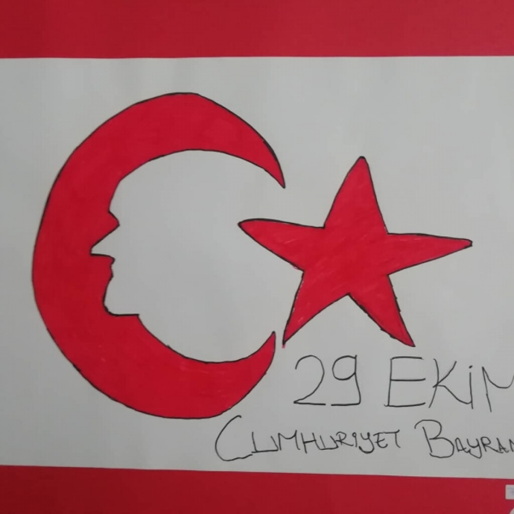 29 Ekim Cumhuriyet Bayramı Resim Sergisi | İstanbul Pendik İlkoku...