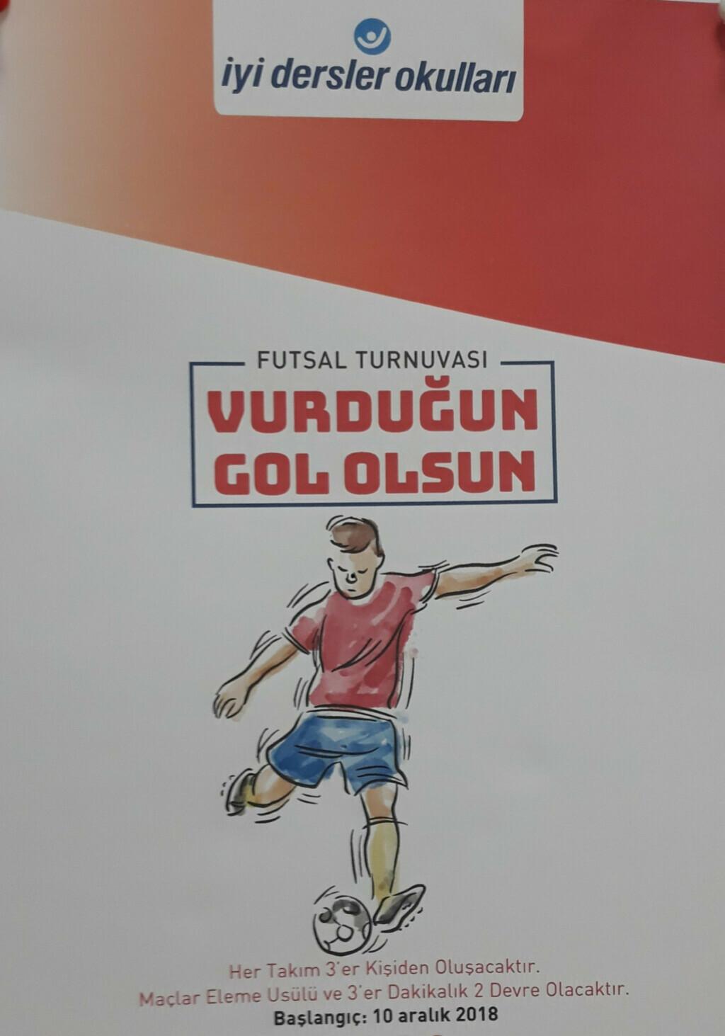 Futsal Turnuvamız Başlıyor | İstanbul Pendik İlkokulu ve Ortaokul...