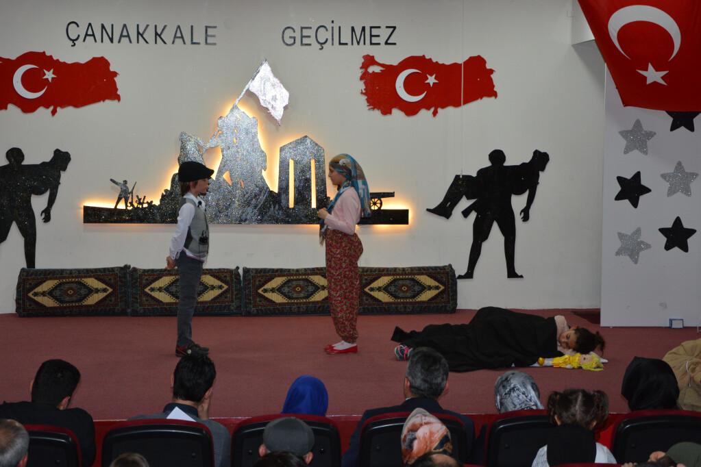 18 Mart Çanakkale Şehitlerini Anma Günü | Kayseri Konaklar İlkoku...