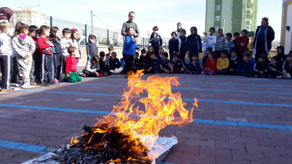 Türk'ün Bayramı Nevruz | Kayseri Konaklar İlkokulu ve Ortaokulu |...