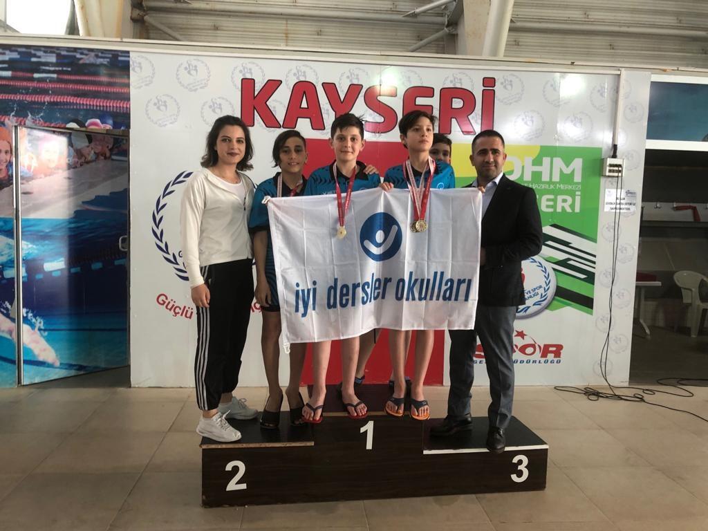 Kayseri'de Yüzme Başarılarımız | İyi Dersler | Özel Okul