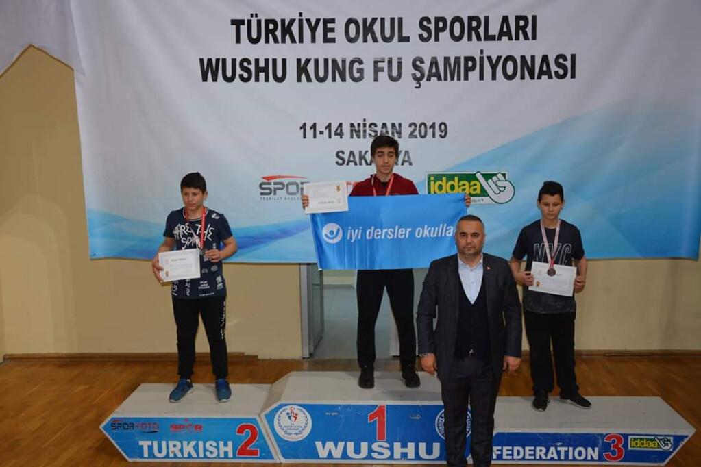 Wushu Türkiye Şampiyonuyuz | İstanbul Pendik İlkokulu ve Ortaokul...