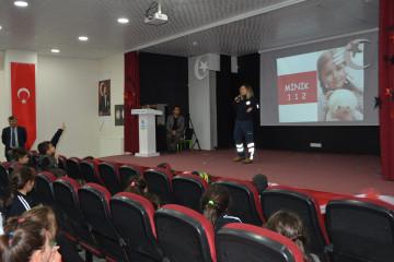 112 ACİL SERVİS | Kayseri Konaklar İlkokulu ve Ortaokulu | Özel O...
