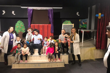 Tiyatro Zamanı | İstanbul Pendik İlkokulu ve Ortaokulu | Özel Oku...