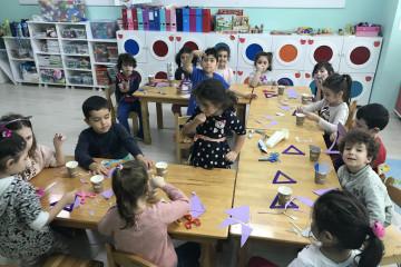 Mor Üçgen Balık Yapıyoruz. | İstanbul Pendik İlkokulu ve Ortaokul...