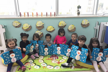 Kış Mevsimi... | İstanbul Pendik İlkokulu ve Ortaokulu | Özel Oku...