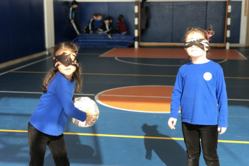 Goalball Oyunu Farkındalık Ve Duyarlılık Projesi
