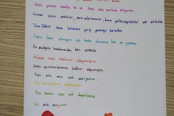 Öğretmenime Özlem Dolu Mektubum... | İyi Dersler | Özel Okul
