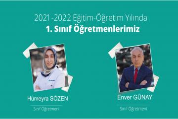 2021 - 2022 Öğretim Yılı 1. Sınıf Öğretmenlerimiz