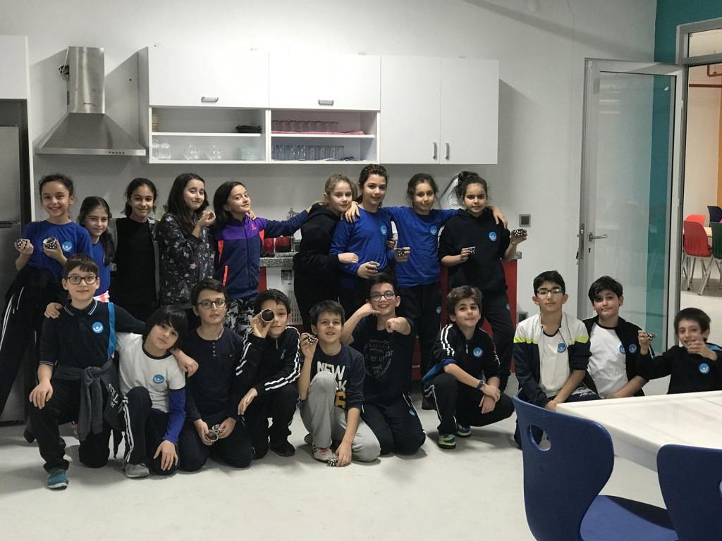 Pendik İlkokulu ve Ortaokulu   Kesirlerle Kek Yaptık