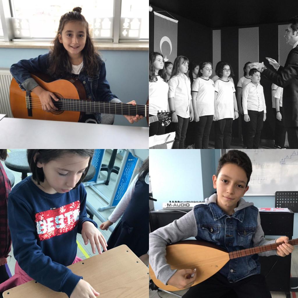 Müziğe Dair   İstanbul Pendik İlkokulu ve Ortaokulu   Özel Okul
