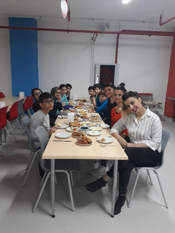 Lgs Öğrencileri İle Kahvaltı | İstanbul Pendik İlkokulu ve Ortaok...