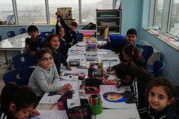24 Kasım Öğretmenler Günü Konulu Resim Çalışmaları